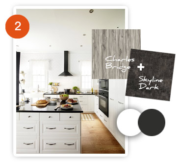 Charles Bridge & Skyline Dark - Great for kitchen design