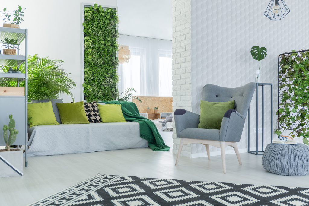Interior Design - Arclin TFL - Green Wall