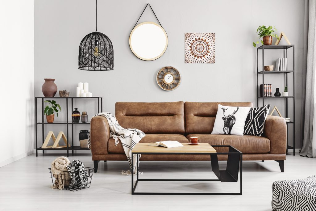 Modern Boho Chic Room - Arclin TFL - Design Trends 2019