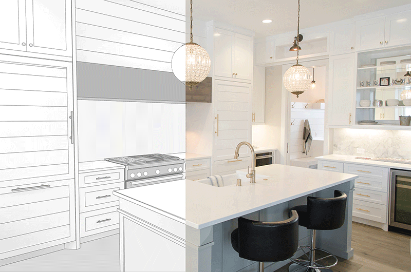 Arclin TFL - Kitchen Before & After, TFL in Kitchen Designs